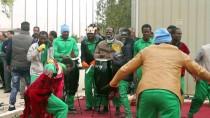 AFRİKALI - Libya'da Kaçak Göçmenler