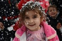 KARDAN ADAM - Mersin'de Kar Festivali Coşkusu