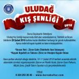 TELEFERIK - 'Uludağ Kış Şenliği' 10-11 Şubat'ta Yapılacak