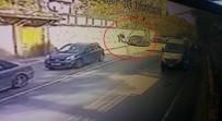 KADIN SÜRÜCÜ - Üsküdar'da Kadın Sürücünün Karıştığı Feci Kaza Kamerada