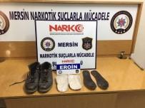ÜÇOCAK - Ayakkabısının Tabanından 259 Gram Eroin Çıktı