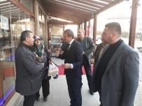 YUSUF ALEMDAR - Başkan Alemdar Beşköprü'de Esnaflara Misafir Oldu