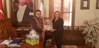 MEHMET CAN - Bolu Belediye Başkan Yardımcısı Biçen'den Başkan Yağcı'ya Ziyaret