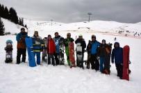 Çambaşı Kayak Merkezine Yoğun İlgi