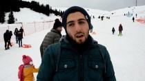 Çambaşı Kış Sporları Ve Kayak Merkezi'ne Yoğun İlgi
