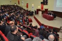 DEDE MUSA BAŞTÜRK - Erzincan Da Uyuşturucu İle Mücadele Ve Okul Güvenliği Toplantısı Yapıldı
