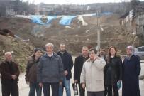 TOPRAK KAYMASI - Heyelan Bölgesindeki Mahalle Sakinleri Kesin Çözüm Bekliyor