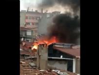 BİNA YANGINI - Kasımpaşa'da korkutan yangın