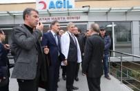 HAYDARPAŞA - Sağlık Bakanı Demircan, Acilleri Ziyaret Etti