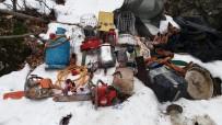 SPOR AYAKKABI - Tunceli'de PKK'nın Kullandığı 5 Sığınak İmha Edildi
