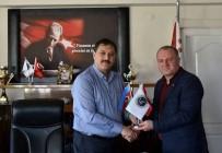 HıRISTIYAN - Asimder, Emniyet Müdürü Ekici'yi Ziyaret Etti