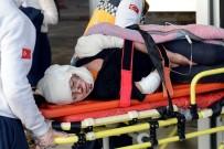 Azez'de Saldırıda Yaralanan 1 Kişi Türkiye'ye Getirildi