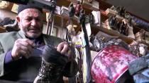 FERMUAR - Baba Yadigarı Dükkanda 73 Yıldır Ayakkabı Tamir Ediyor