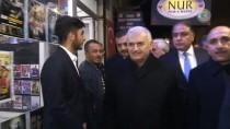 Başbakan Yıldırım Terör Örgütü PYD/PKK'nın Roketle Saldırdığı Camiyi Ziyaret Etti