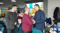 SPOR KOMPLEKSİ - Başkan Akın, Dernek Üyeleri İle Bir Araya Geldi