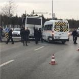 ÖĞRENCİ SERVİSİ - Başkent'te İki Servis Aracı Çarpıştı