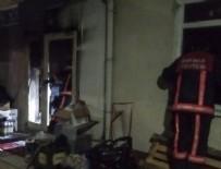 KALP MASAJI - Başkentte market yangını