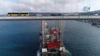 PANAMA - Dev Platformunun Geçişi Havadan Görüntülendi