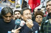 MUHAMMED SALİH - Doğu Türkistanlılar Çin'i Protesto Etti