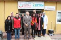 MEME KANSERİ - Erzincan'da Gençlerden Ketem Ziyareti