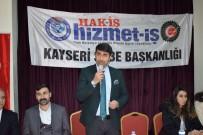 ARABULUCULUK - Hizmet-İş Sendikası Temsilciler Meclisi Toplantısını 'Fetih Suresi' Okunarak Yapıldı