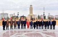 BÖLGE TOPLANTISI - Konya'da Bulunan Belediye Başkanları Tarihi Ve Kültürel Mekanları İnceledi