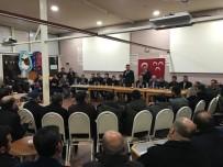 MAHALLİ İDARELER - MHP'de Yeni Üyelere Rozet Takıldı