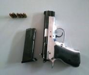 UMURLU - Ruhsatsız Silahla Yakalandı