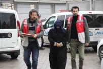 GENÇ KADIN - Samsun'da 5 Kişinin Telefonunu Çalan Suriyeli Kadın Yakalandı