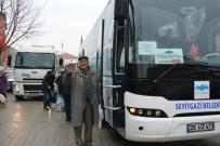 PAZARCI ESNAFI - Seyitgazi Ve Kırka'da Ücretsiz Pazar Servisi İlgi Görüyor