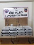 TRAFİK CEZASI - Siirt'te 5 Bin Paket Kaçak Sigara Ele Geçirildi