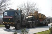 ZIRHLI ARAÇ - Sınıra Tank Sevkiyatı Sürüyor