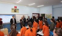 SUAT DERVIŞOĞLU - Ümraniye'de 2017-2018 Eğitim Öğretim Yılının İkinci Yarıyıl Ders Zili Çaldı