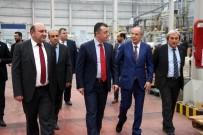 EDIP ÇAKıCı - Vali Büyükakın'dan Osmaneli OSB'de Faaliyet Gösteren Fabrikalara Ziyaret