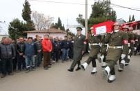 HÜSEYIN YARALı - Vefat Eden Güneydoğu Gazisi Askeri Törenle Toprağa Verildi