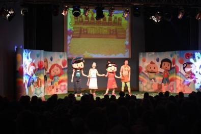 4 bin çocuk tiyatro izledi