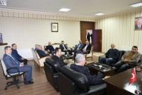 KAVAKYOLU - AK Parti Erzincan Milletvekili Karakelle Ve Erzincan Belediye Başkanı Başsoy'dan Çukurkuyu Belediyesi'ne Ziyaret