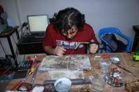 Arnavut Zincirinden Yapılan Tespihlerin Gümüşlükleri Kızıltepe'den Karşılanıyor