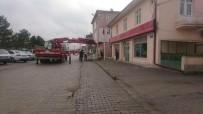ELEKTRİK HATTI - Aslanapa'da Elektirk Hatlarını Yer Altına Alma Çalışmaları