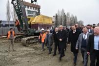 ÖLÜMLÜ - Başkan Ergün Salihli'de Köprülü Kavşak Çalışmasını İnceledi