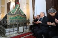 MEVLÜT UYSAL - Başkan Uysal 3 Sultan, 19 Hanedan'ın Bulunduğu Türbenin Restorasyon Çalışmalarını İzledi