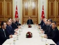Cumhurbaşkanı Erdoğan başkanlığında Beştepe'de güvenlik zirvesi toplandı