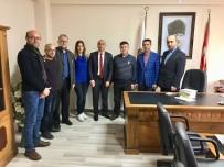 GECE BEKÇİSİ - Emniyet Müdürü Kaya SGC'yi Ziyaret Etti