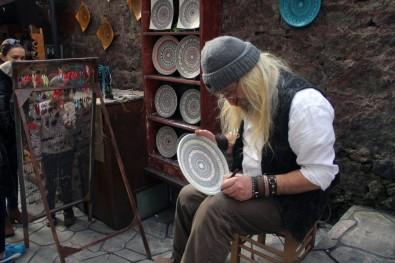 Giresun'da Sanat Sokağı'nın sembolü oldu