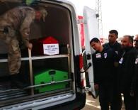 İdlib'de Ağır Yaralanan Ve Hastanede Şehit Olan DSİ Çalışanı, Son Yolculuğuna Uğurlandı