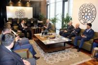 KAMU DENETÇİLERİ - Kamu Başdenetçisi Malkoç KTO'yu Ziyaret Etti