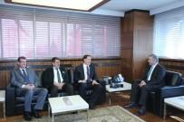 ŞEREF MALKOÇ - Kamu Başdenetçisi Şeref Malkoç, Başkan Mustafa Çelik'i Ziyaret Etti