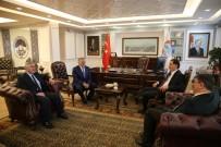 KAMU DENETÇİLERİ - Kamu Başdenetçisi Şeref Malkoç Melikgazi'de