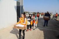 İÇLİ KÖFTE - Kilis Belediyesinden Askerlere Yemek İkramı