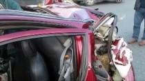 HEREKE - Kocaeli'de Tır Arıza Yapan Otomobile Çarptı Açıklaması 1 Ölü, 1 Yaralı